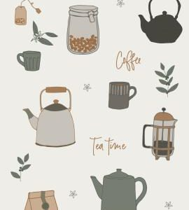 Serviette Tea Time/Coffee 16 Stck