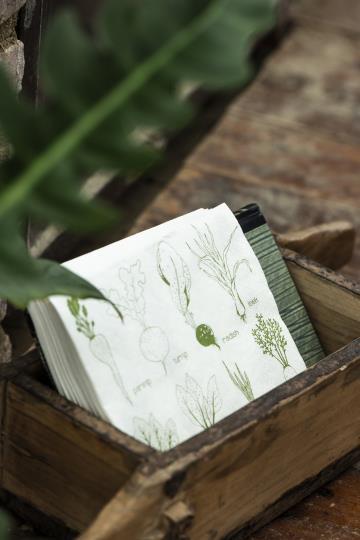 Papierservietten IB Laursen - Würzelgemüse 20 Stück