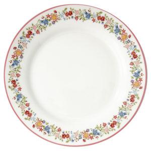 Stoneware Plate Clementine white