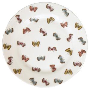 Stoneware Plate Maisie white