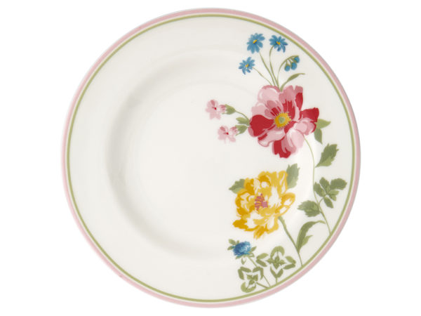 Stoneware Small plate Thilde white