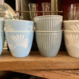 Greengate Latte cup - Maxime dusty blue