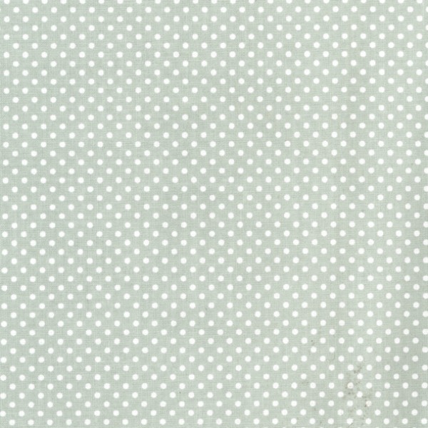 Wachstuch - grün Punkte