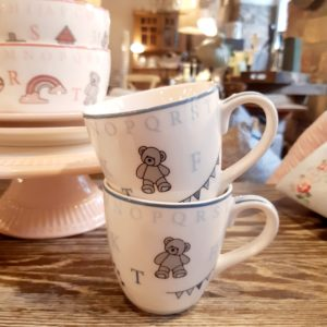 Greengate Kids mug - Charlie blue