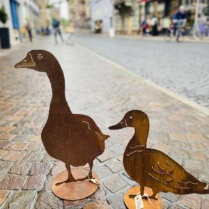 Gans und Ente