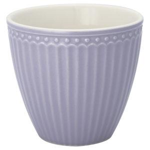 Stoneware Latte cup Alice lavender
