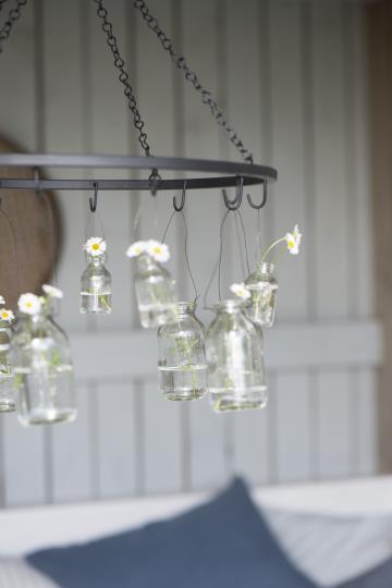Flasche mini Blumen zum hängen