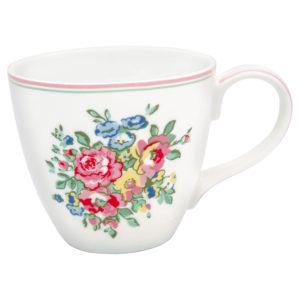Stoneware Mug Franka white